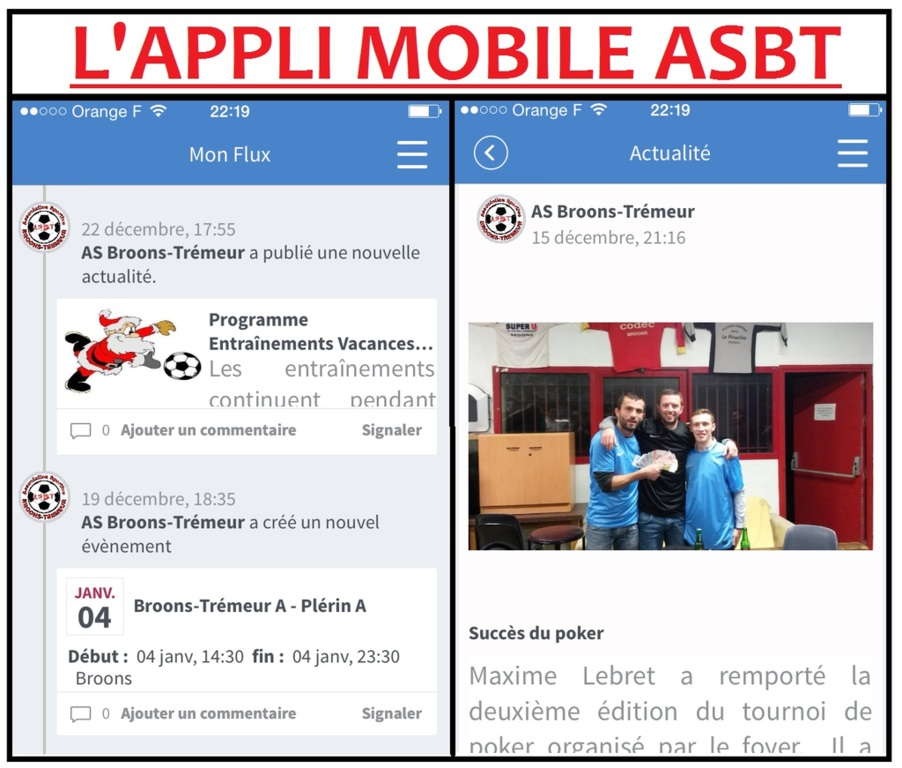 APPLICATION MOBILE ASBT